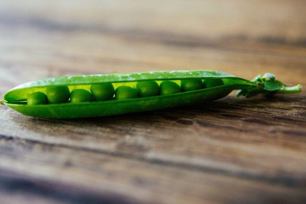 resized peas