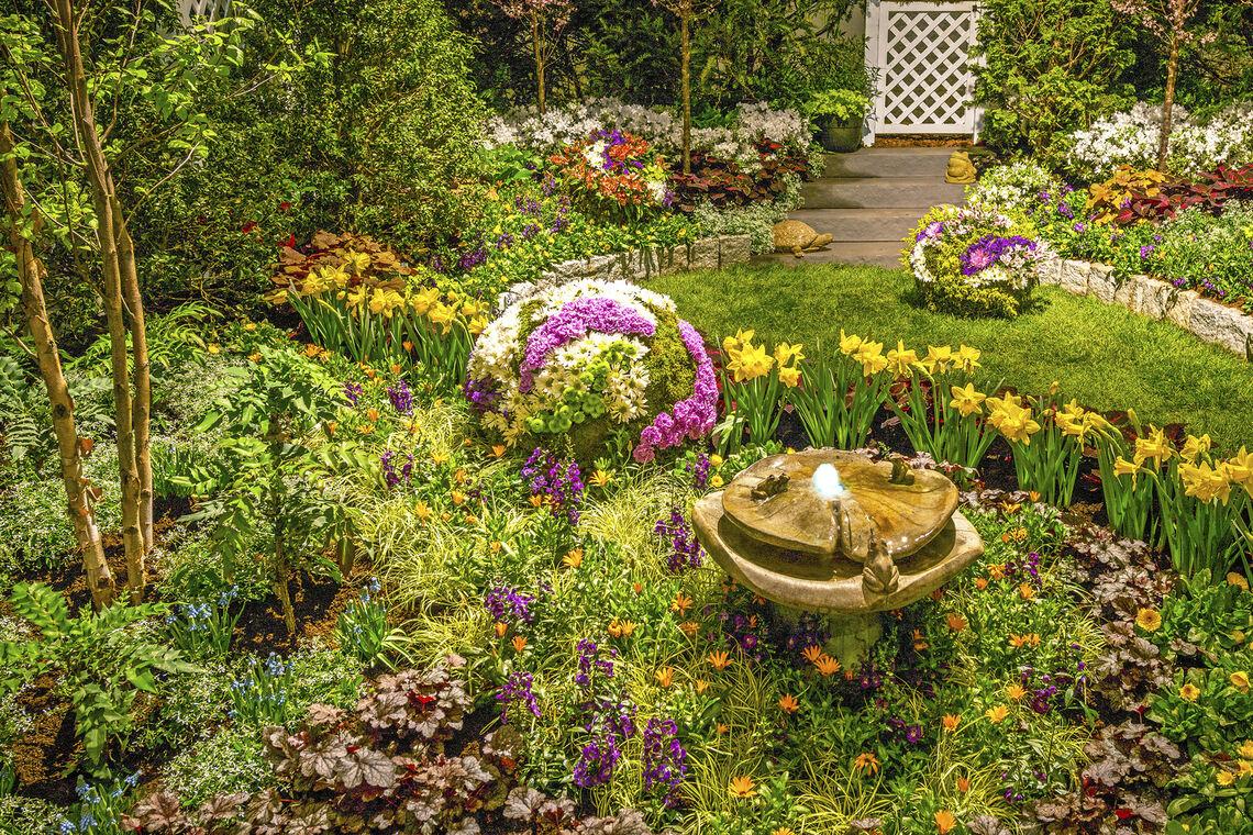 Brighter Display Garden