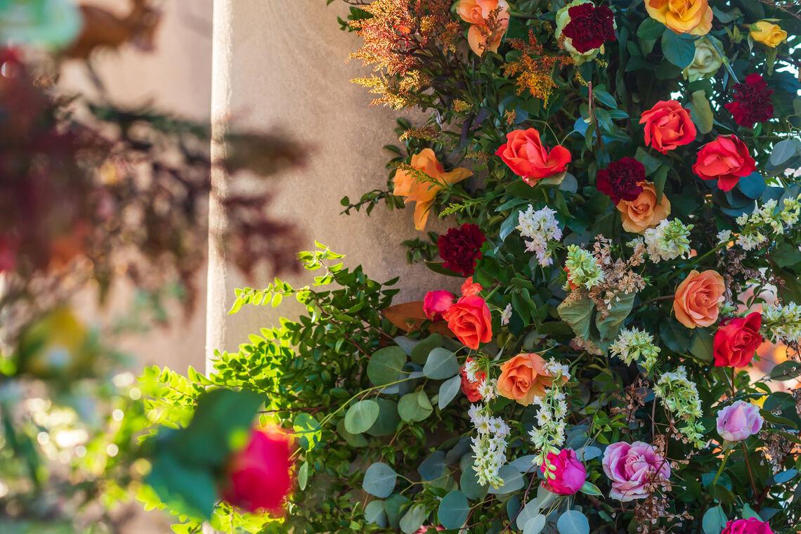 Gazebo Flowers at FDR Park