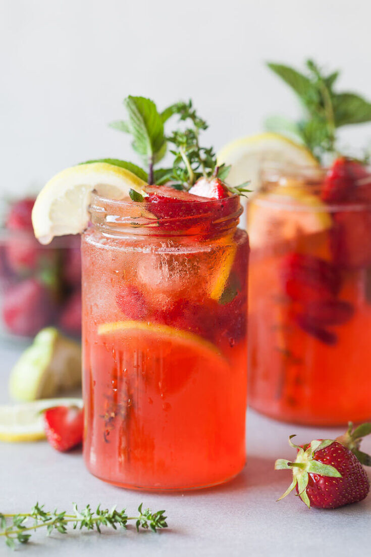 strawberry basil lemonade 05 735x1103
