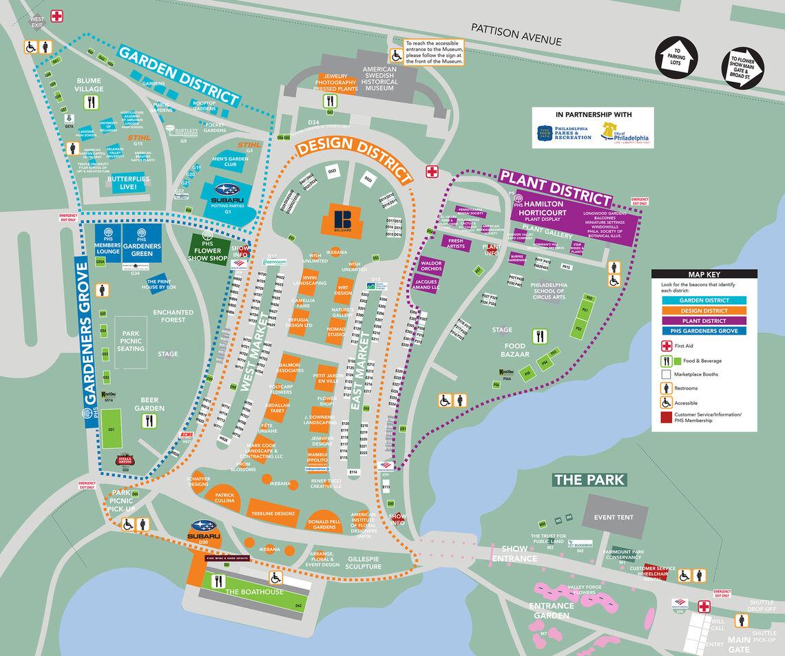 2021 Flower Show Map thumbnail